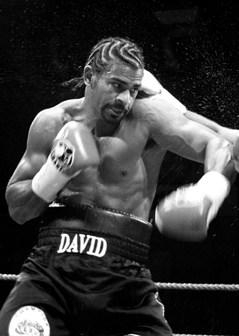 David Haye in Action