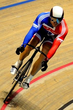 Chris Hoy in Action
