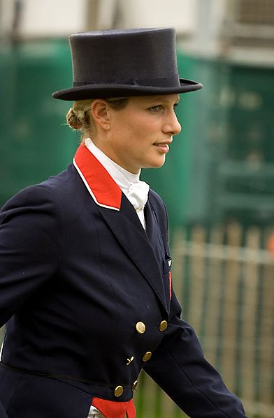 Zara Phillips in Riding Outfit