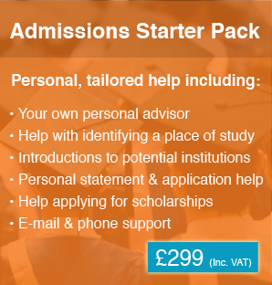 Admissions Starter Pack