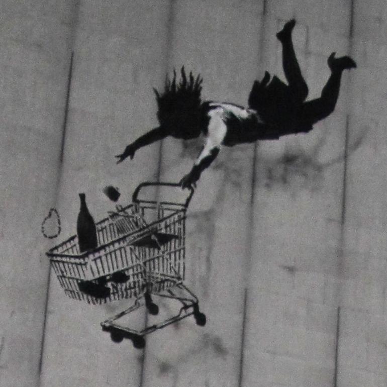 Banksy, Bruton Lane W1