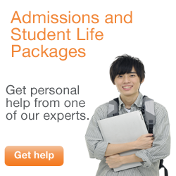 Admissions and Student Life Packages