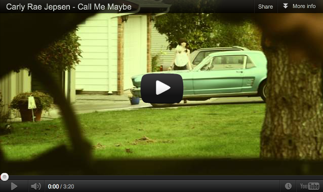 Call Me Maybe Video