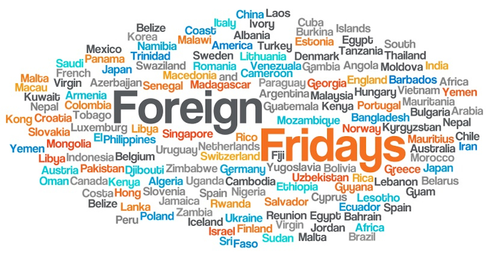 Foreign Fridays World Map